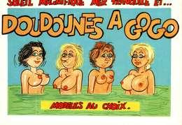 Humour - Illustration Alexandre - Lyna Série Vacances 971/3 - Doudounes à Gogo, Modèles Au Choix...... - Humour