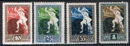 -1919 -:- Anniversaire De La Libération De La Courlande - Mort Du Dragon  -  Dentelés 11,5 - Neufs *- - Lettonie