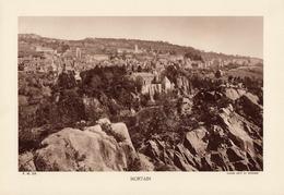MANCHE, MORTAIN, Planche Densité = 200g, Format 20 X 29 Cm, (L. L.) - Géographie