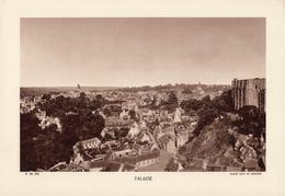 CALVADOS, FALAISE, Planche Densité = 200g, Format 20 X 29 Cm, (L. L.) - Géographie