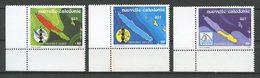 Nlle CALEDONIE 1991 N° 611/613 ** Neufs MNH Superbes Cote 3.75 € Les 3 Provinces Néo Calédoniennes Cartes Emblème î