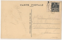 Convoyeur CHATEAU THIERRY Aisne Sur CP DORMANS Marne.1931. - Poststempel (Briefe)