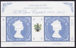 Pitcairn Block64 (complete.issue.) Unmounted Mint / Never Hinged 2013 Coronation Elizabeth II.