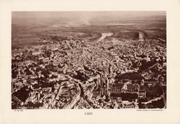 CALVADOS, CAEN, Usine, Canal De Caen à La Mer, Planche Densité = 200g, Format 20 X 29 Cm, (Luzoir & St-Blancard) - Géographie