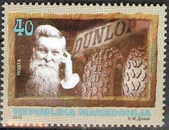 MAACEDONIA 2013 John Boyd Dunlop,1840-1921 MNH - Macédoine