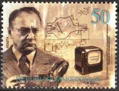 MACEDONIA 2013 The 125th Anniversary Of The Birth Of Vladimir Zworykin,1888-1982 MNH - Macédoine