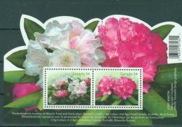 Kanada Block 110 ** Postfrisch Rhododendron