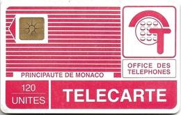 TELECARTE PYJAMA 120 UNITES PRINCIPAUTE MONACO SERIE 204 A
