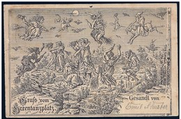 Germania/Allemagne/Germany: Intero, Stationery, Entier, Raduno Delle Streghe, Gathering Of Witches, Rassemblement De Sor