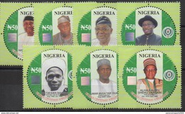 Nigeria 2014 Centenary Anniversary 100 Years 1914 - 2014 Presidents Prime Minister Politics MNH**
