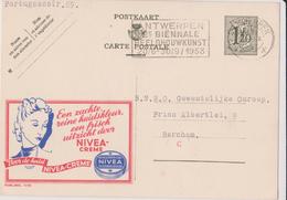 PUB  N°1175 - NF - Nivéa Crème - Ecrit Et Oblitéré - Cachet Antwerpen - Publibels