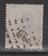 Belgie, Belgique, Belgium 1865 Leopold I 20 Centimes Blauw Michel 15 - 1865-1866 Linksprofil