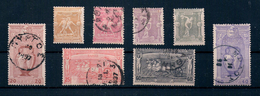 1896 Greece Olympic Games # 96-103 Used