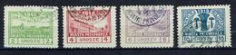PRZEDBORZ - Poste Locale Série Expertisée Fischer N° 7/10 Valeur Grosze Dentelée 10 - 1918 - ....-1919 Provisional Government