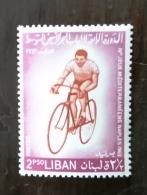 LIBAN Cyclisme, Velo, Bicyclette. Jeux Mediterraneens  Yvert N°228. **. MNH - Wielrennen