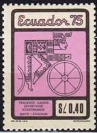 EQUATEUR Vélo Cycliste Cyclisme Bicycle Cycling Fahrrad Radfahrer Bicicleta Ciclista Ciclism, Yvert N° 925, **. MNH - Wielrennen