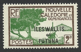 Wallis And Futuna, 2 C. 1930, Sc # 44, MH - Wallis And Futuna