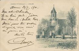 Knocke Pittoresque  -  L'Eglise   1901  Naar   Heyst S/Mer