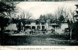 N°38691 -cpa Château De Harazée - Guerre 1914-18