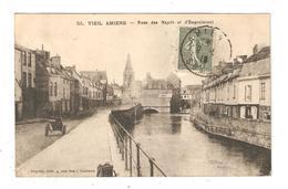 CPA 80 AMIENS Vieil Amiens Rues Des Majots & D'Engoulevent 1918  Vue Peu Commune - Amiens