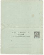 CONGO ENTIER SAGE REPONSE PAYEE NEUF - Congo Français (1891-1960)