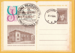 POLAND - 1964.04.27. Cp 249 600th Anniversary Of Jagiellonian University - Department Of Chemistry - Marchlewski 2