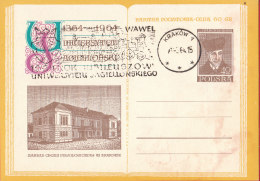 POLAND - 1964.04.27. Cp 249 600th Anniversary Of Jagiellonian University - Department Of Chemistry - Marchlewski 3