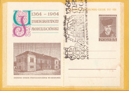 POLAND - 1964.04.27. Cp 249 600th Anniversary Of Jagiellonian University - Department Of Chemistry - Marchlewski 4