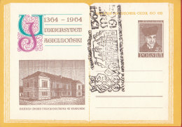 POLAND - 1964.04.27. Cp 249 600th Anniversary Of Jagiellonian University - Department Of Chemistry - Marchlewski 6