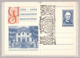 POLAND - 1964.04.27. Cp 250 600 Th Anniversary Of Jagiellonian University - Theatrum Anatomicum - Rostanecki 2