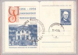 POLAND - 1964.04.27. Cp 250 600 Th Anniversary Of Jagiellonian University - Theatrum Anatomicum - Rostanecki 3