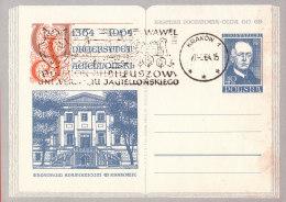 POLAND - 1964.04.27. Cp 250 600 Th Anniversary Of Jagiellonian University - Theatrum Anatomicum - Rostanecki 4
