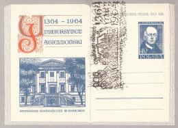 POLAND - 1964.04.27. Cp 250 600 Th Anniversary Of Jagiellonian University - Theatrum Anatomicum - Rostanecki 5