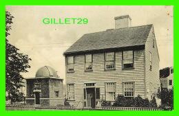 NANTUCKET, MA - BIRTHPLACE OF MARIAH MITCHELL & OBSERVATORY - 1908, M. W. BOYER - - Nantucket