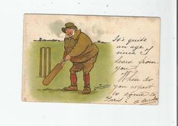 CRICKET ILLUSTRATION DE LANCE THACKERAY - Críquet