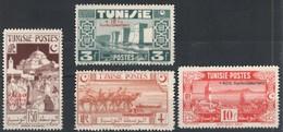 Tunisie  Timbres Neufs Sans Charnière   269 à 272