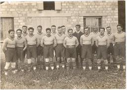 Photo De L'équipe De Rugby De Grenoble  (17.5cm X 12cm)- Photo P.Gaude - Grenoble