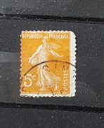 France YT 158 - 5c - Oblitéré - Orange