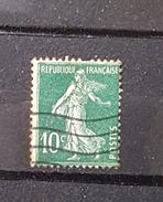 France YT 159 - 10c - Oblitéré - Vert
