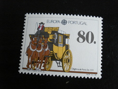 """Portugal - Europa 1988 """"Les Transports"""" - Y.T. 1731 - Neuf ** Mint MNH - Europa-CEPT"""