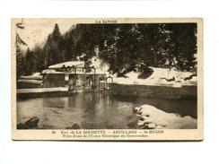 Cp - Env. De LA ROCHETTE - ARVILLARD - ST HUGON (73) - Prise D'eau De L'usine électrique Du Grésivaudan - Other Municipalities