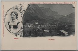 """Muotathal - Martha - Aufführung Der """"Gemma Von Arth"""" Im Neuen Theater In Arth"""