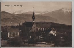 Kappel Am Albis Mit Rigi - Photo: E. Goetz No. 3147