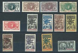 """Cote Ivoire YT 21 à 33 """" 13 TP De """" 1906-07 Voir Détail"""