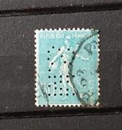 France YT 161 - 50c - Oblitéré - Perforé M.S