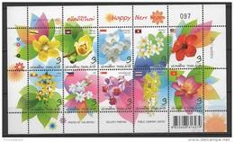 Thailand (2013) - MS -   /  Blumen - Flowers - Fleurs - Flores - Fiori - Orchidees - Orchids - Orquideas - Orchidées