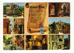 Cpm N° 454 SAINT PAUL Vues Pittoresques Du Village - Saint-Paul