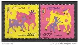 Vietnam (2014) - Set -  /  Mouton - Sheep - Schafes - Chevre - Chinese New Year - Año Nuevo Chino