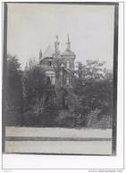 Dilbeek :Château De? Kasteel Van? 11/9/1907 (originele Foto 12x9cm Op Dun Fotopapier ) - Dilbeek