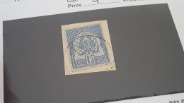 LOT 343058 TIMBRE DE TUNISIE OBLITERE N°4 VALEUR 23 EUROS